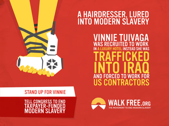 Walk Free : The Movement to End Modern Slavery